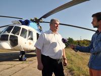 Пациентка первого рейса крымской санавиции была доставлена из Симферополя в Краснодар